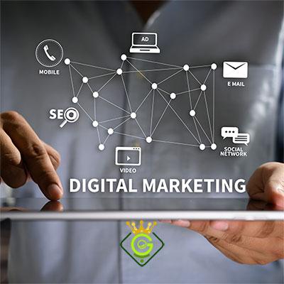 خدمات بازاریابی دیجیتال گلزاروب