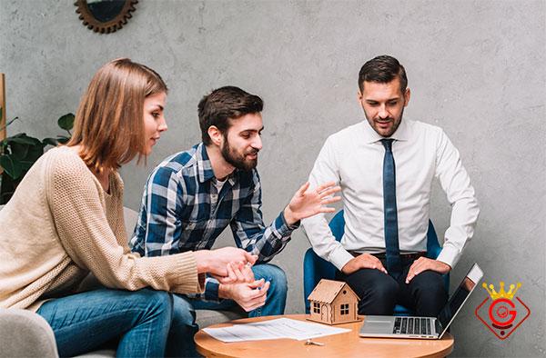 گلزاروب طراح سایت شرکتی مناسب شغل مشاوران املاک