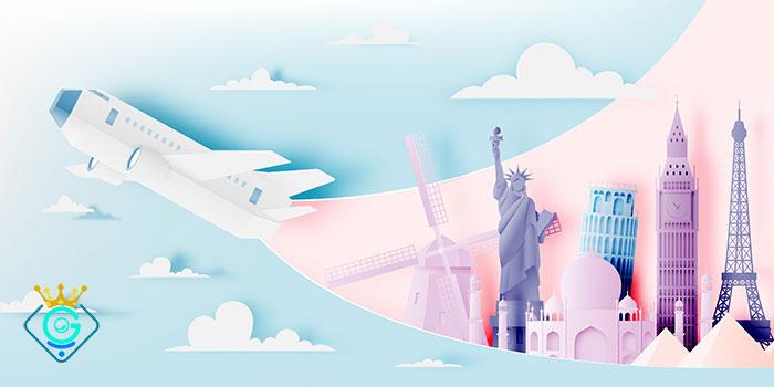 گلزاروب طراح سایت آژانس هواپیمایی به صورت حرفه ای