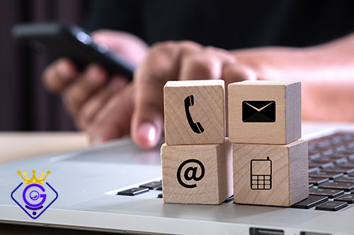 تماس با گلزاروب برای خدمات پشتیبانی طراحی سایت