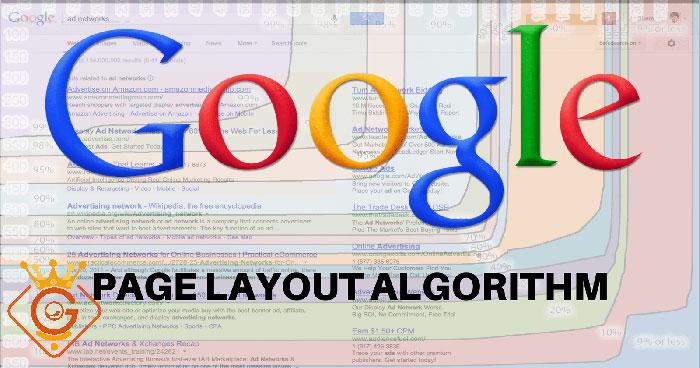 الگوریتم page layout گوگل در سئو سایت - گلزاروب