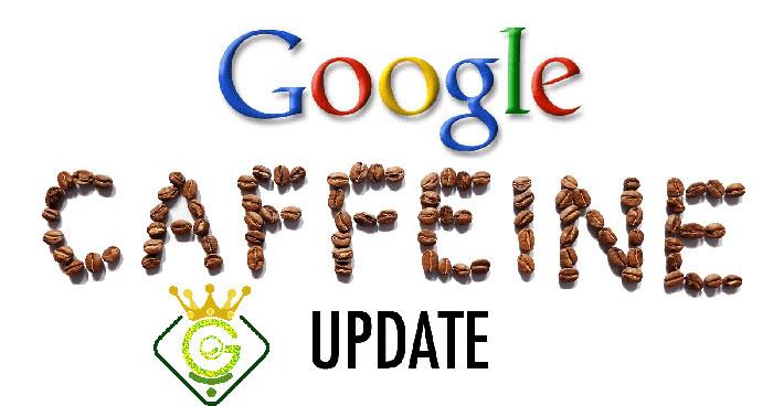 الگویتم کافئین گوگل در بهبود سئو گلزاروب