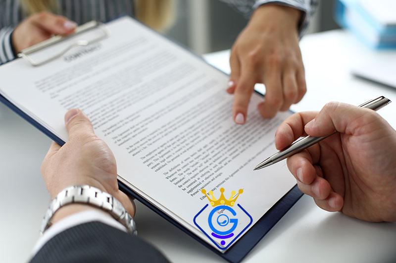 امضای قرارداد طراحی وب سایت در شرکت طراحی سایت