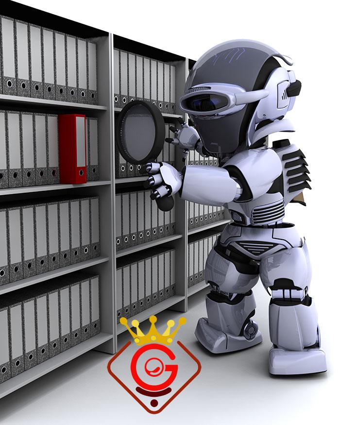 نحوه کارکرد فایل روبات سایت - گلزاروب