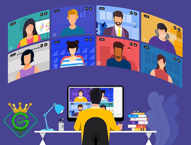 ایجاد یک رویداد آنلاین با هدف های مختلف - گلزاروب