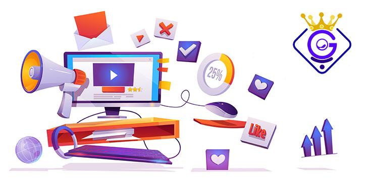 انتشار یک رپورتاژ آگهی با لینک سازی استاندارد درون آن - گلزاروب
