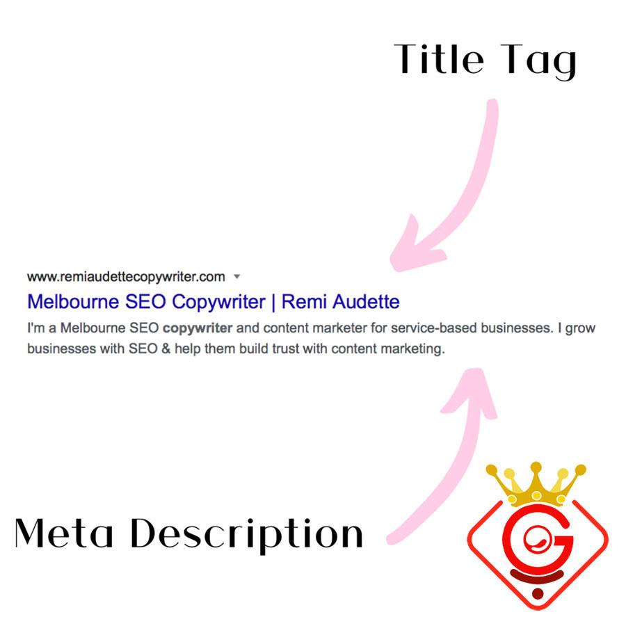 تگ عنوان و تگ توضیحات در نتایج جستجو - گلزاروب