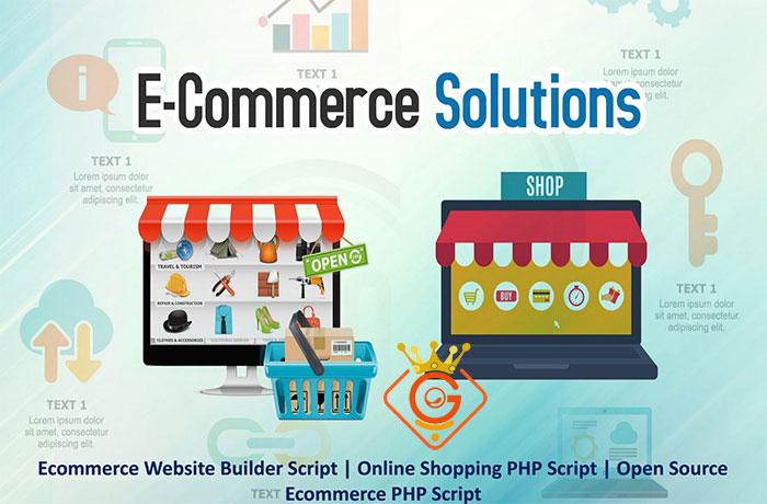 طراحی سایت فروشگاهی با PHP - گلزاروب