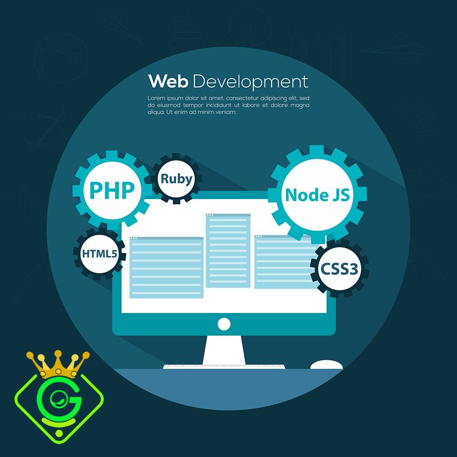انواع مختلف زبان های برنامه نویسی تحت وب  - گلزاروب
