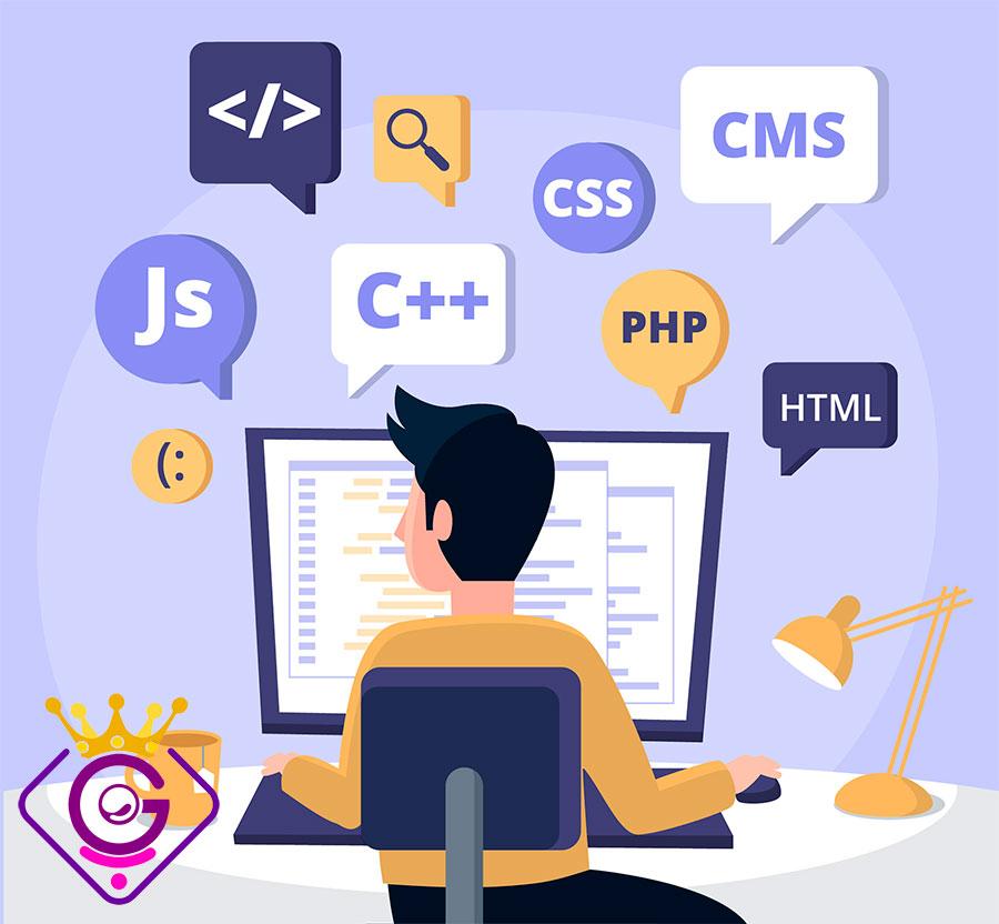 زبان های برنامه نویسی متداول برای امر طراحی وب سایت
