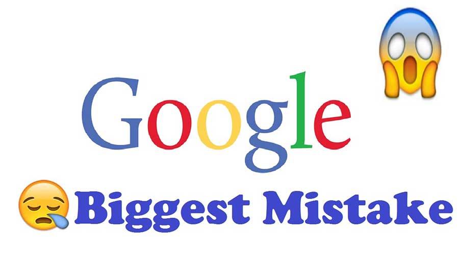 مهمترین اشتباهات رایج گوگل چیست؟
